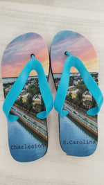Charleston City Feet Flip Flops