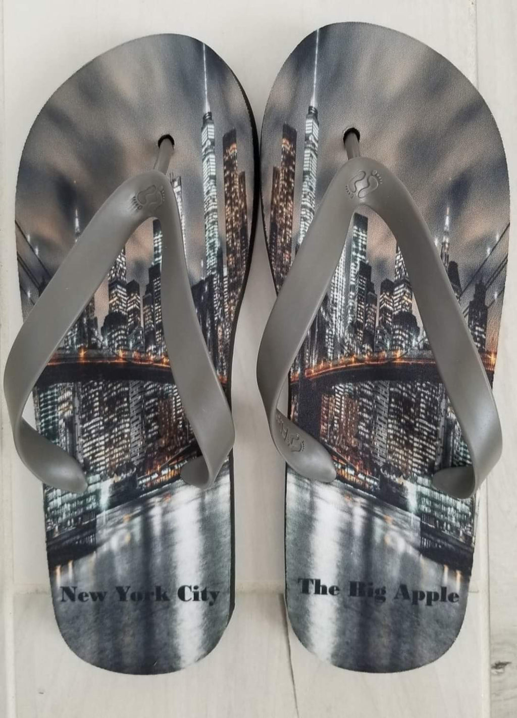 New York City Feet Flip Flops