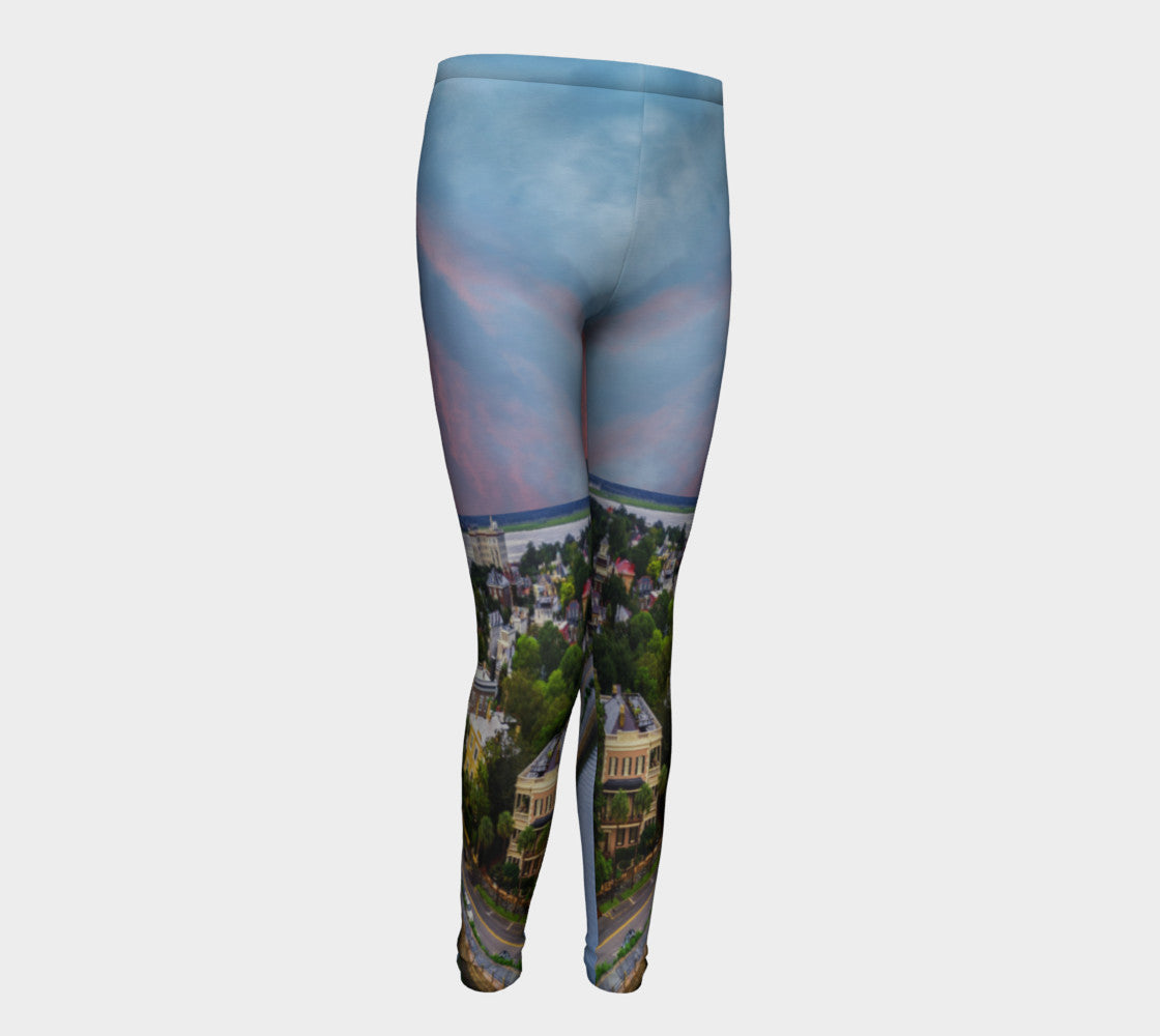 The Charleston Classic Youth Leggings for Ages 10-12