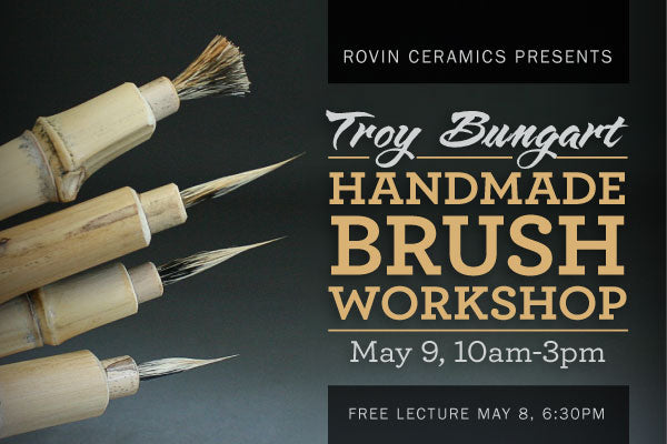Troy Bungart Handmade Brush Workshop & Lecture