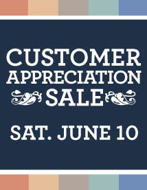 Rovin Customer Appreciation Sale