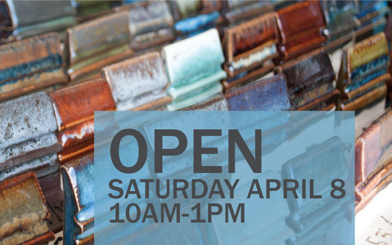 Open Saturday April 8