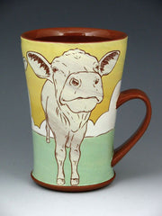 Kip O'Krongly Sunset Cow Mug