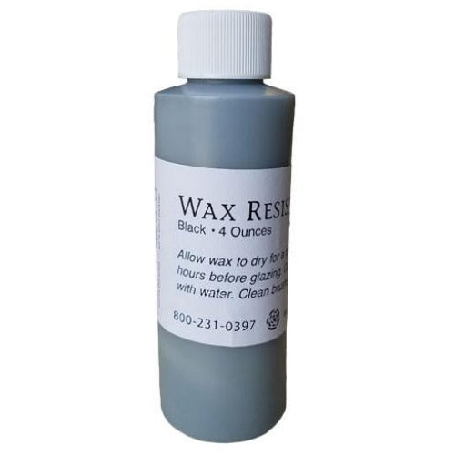 Aftosa Black Wax Resist 4 oz.