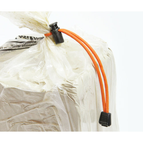 Clay Bag Ties Orange