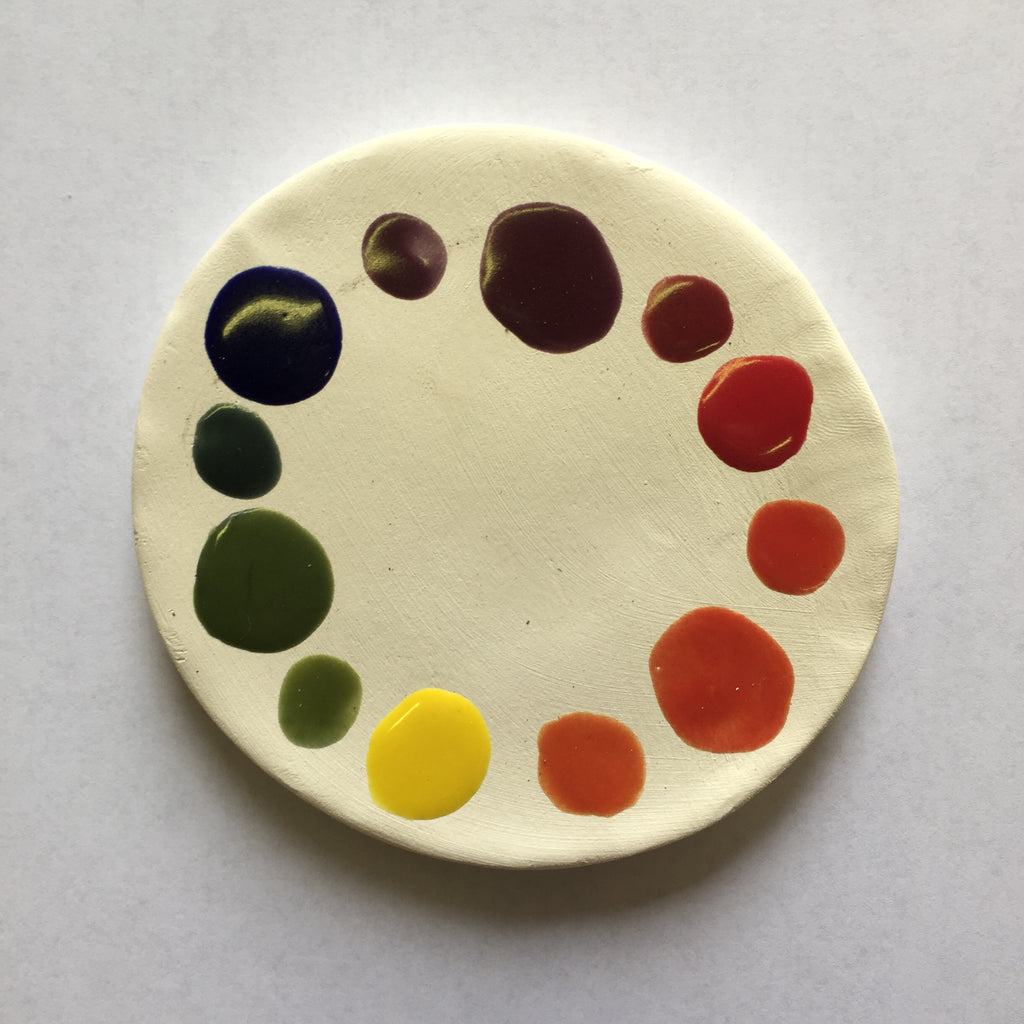 Clay Color Wheel (DOWNLOAD PDF TO PURCHASE)