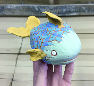 Pinch Pot Fish (DOWNLOAD PDF TO PURCHASE)