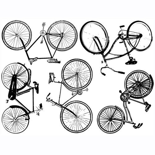 Decal Bikes Large