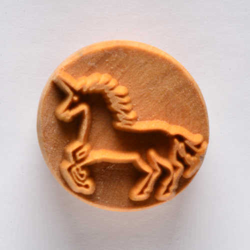 SCL-056 Stamp Circle Large - Unicorn