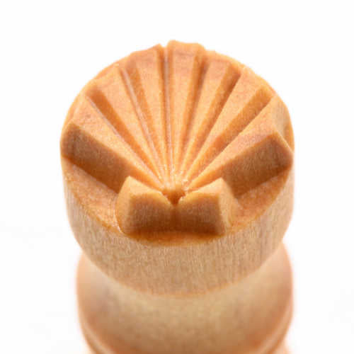 SCS-042 Small Circle Stamp - Sea Shell