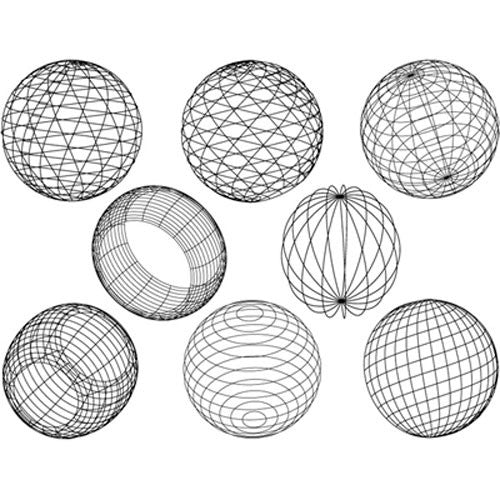 Decal Spheres White