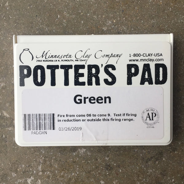 Potter's Ink Pad - Green
