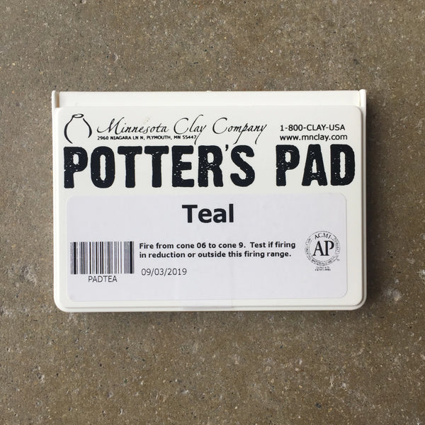 Potter's Ink Pad - Teal