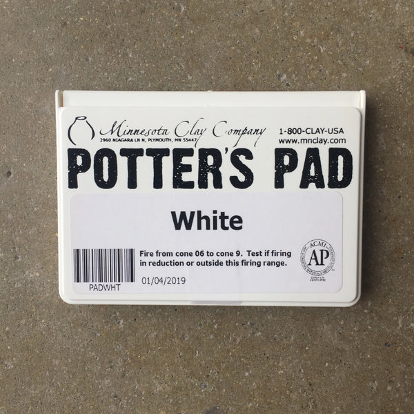 Potter's Ink Pad - White