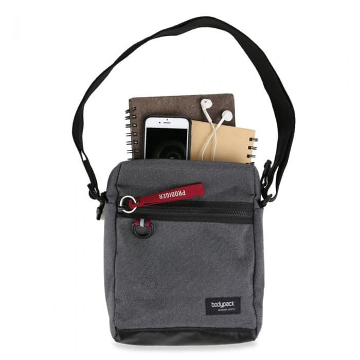 BODYPACK STANMORE TAB SHOULDERBAG - GREY - Otdor.com
