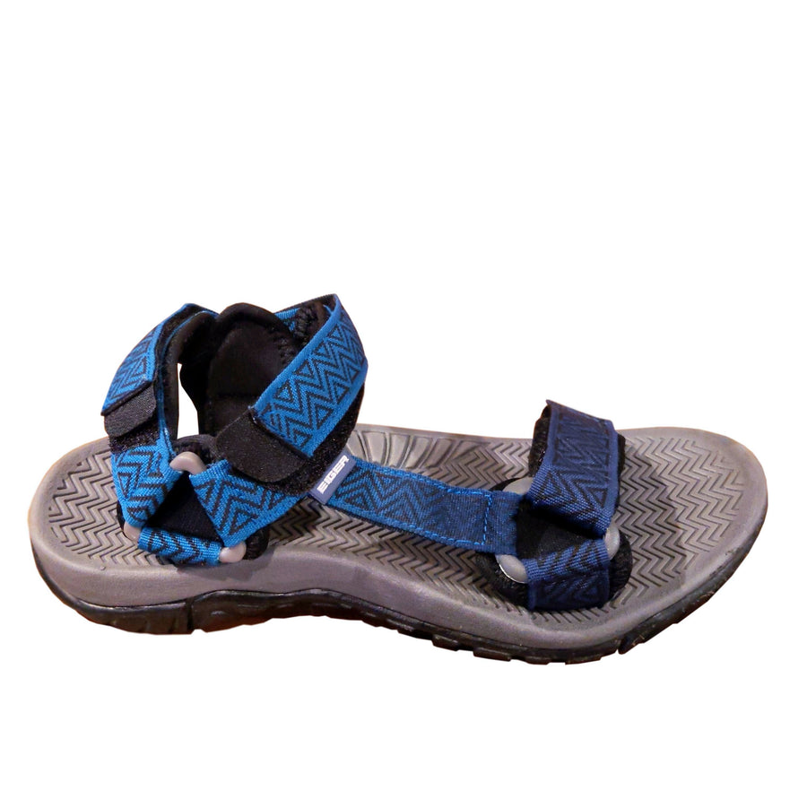 EIGER CALDERA MEN 1.0 SOL DARK GREY PATTERN - BLUE - Otdor.com