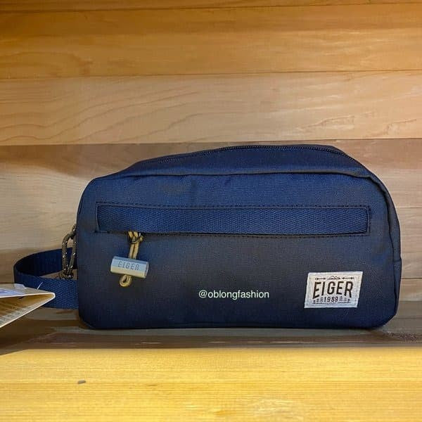 EIGER JOURNAL DOPP KIT - NAVY