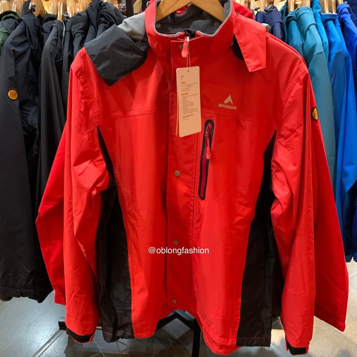 EIGER JACKET CLEMENT - RED - Otdor.com