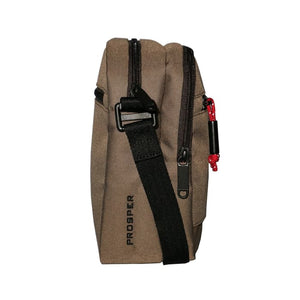 BODYPACK TRAVEL POUCH PROSPER - BROWN - Otdor.com
