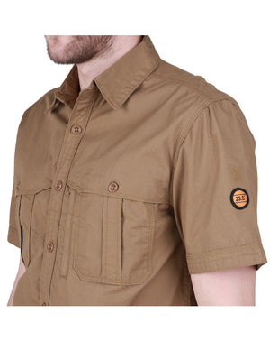 EIGER BLACK BORNEO KALAMANTARA SS SHIRT - BROWN