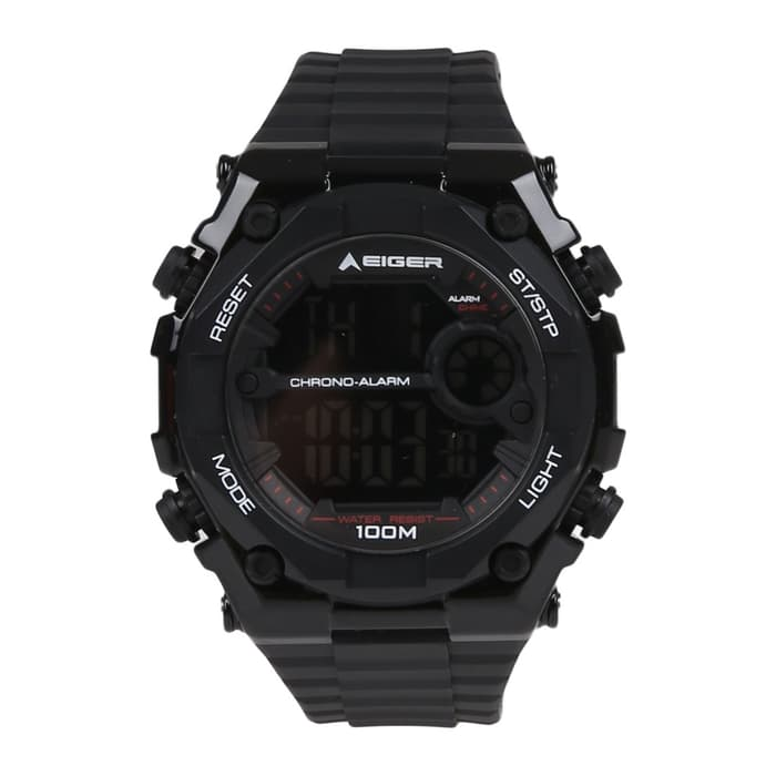 EIGER LCD WATCH YP11538 - BLACK - Otdor.com