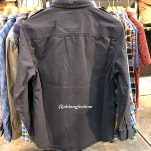 EIGER OREGON LONG SLEEVE SHIRT 89 - GREY - Otdor.com