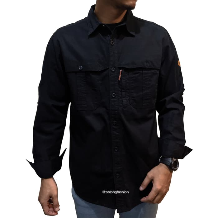 EIGER AMBITION TROPIC LONG SLEEVE - BLACK - Otdor.com