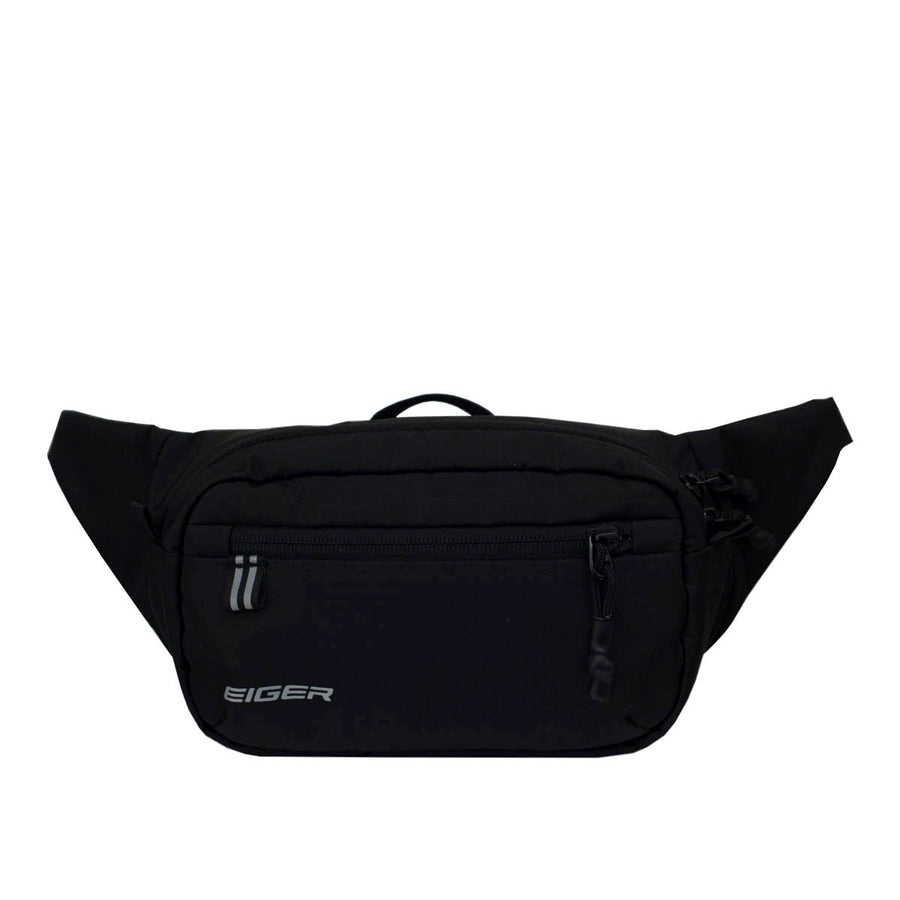 EIGER IRIDIUM 2L FOLDABLE WAIST BAG - BLACK - Otdor.com