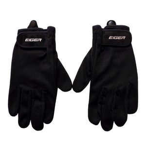 EIGER NEW RIDING GLOVE BASIC FULL - BLACK - Otdor.com