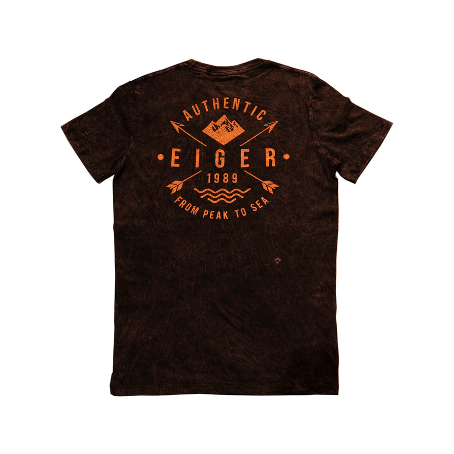 EIGER ARKHAM T-SHIRT 1989 - RED