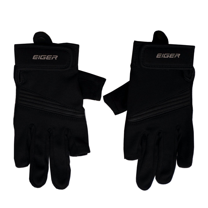EIGER DAILY RIDING GLOVE COMBINE - BLACK - Otdor.com