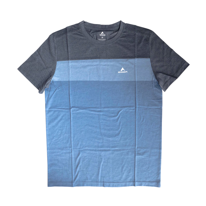 EIGER TWO PATH T-SHIRT - BLUE - Otdor.com
