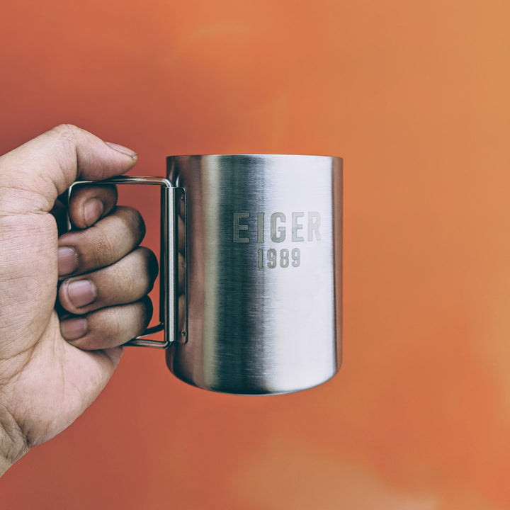 EIGER ESCALATE MUG 1.0 - SILVER