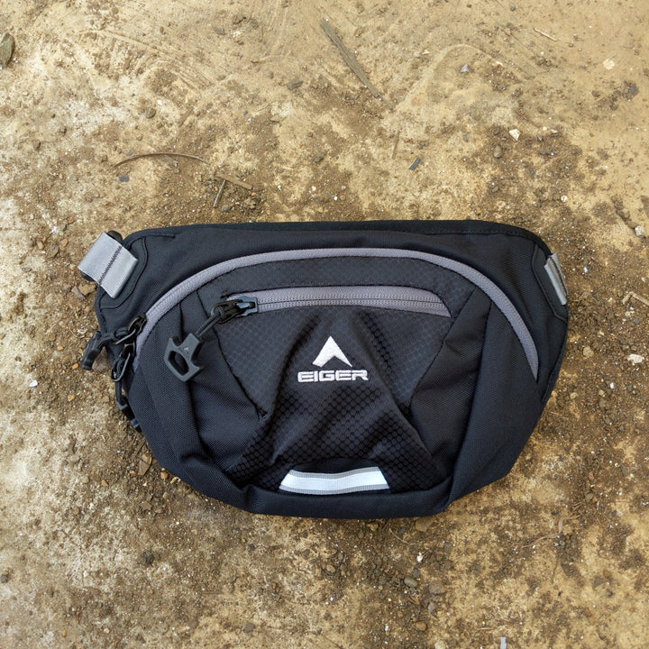EIGER WAIST BAG VESSEL - BLACK - Otdor.com