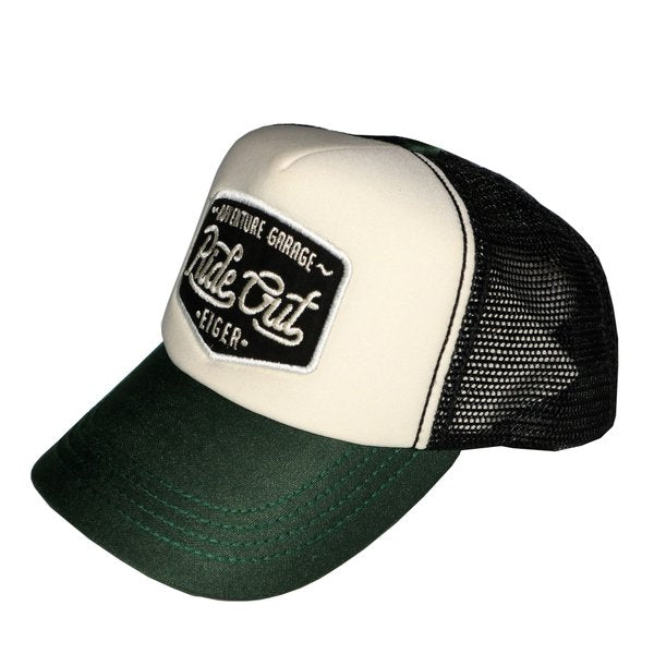 EIGER RIDING SCAR RIDE TRUCKER CAPS - GREEN