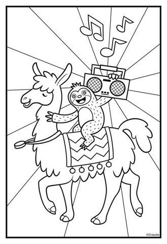 radio nerd coloring pages