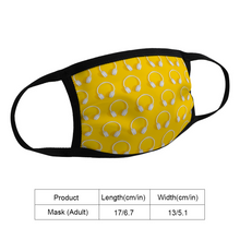 Load image into Gallery viewer, Bright Headphone Mask - The Radio Nerd