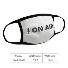 Load image into Gallery viewer, On Air Face Mask - The Radio Nerd
