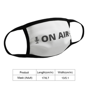 On Air Face Mask - The Radio Nerd