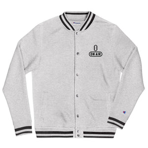 Champion On Air Bomber Jacket - The Radio Nerd