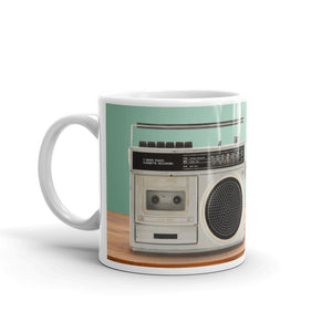 The Radio Nerd | Retro Cool Mug - The Radio Nerd