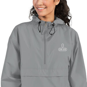 The Radio Nerd | On Air Champion Packable Jacket - The Radio Nerd