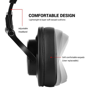 The Radio Nerd | Pro Studio Bluetooth Headphones - The Radio Nerd