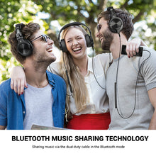 Load image into Gallery viewer, The Radio Nerd | Pro Studio Bluetooth Headphones - The Radio Nerd