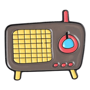 Vintage Radio Pin Collection - The Radio Nerd