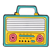 Load image into Gallery viewer, The Radio Nerd | Vintage Radio Pin Collection - The Radio Nerd