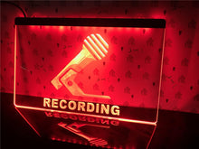 Load image into Gallery viewer, Recording LED Studio Sign - The Radio Nerd
