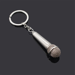 Microphone Keychain - The Radio Nerd
