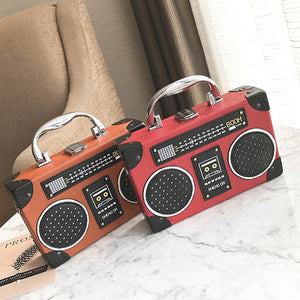 The Radio Nerd | Vintage Style Radio Purse - The Radio Nerd
