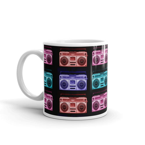 Retro Boombox Mug - The Radio Nerd